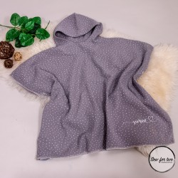 Bade Poncho - Musselin